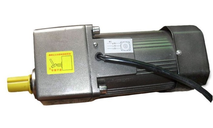 AC 380V 180W three phase motor with gearbox. AC gear motor, three phase general frequency converter 2 2kw 380v three phase motor warranty 18 delta