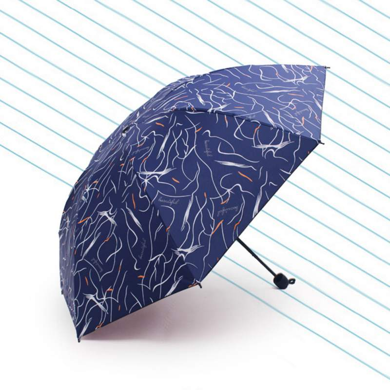Portable Travel Umbrella Windproof For Sun Protection And Rain UV Protection Umbrella Rain Women Fashion Rainy Gift to Friends