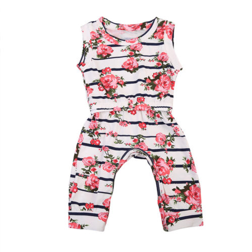 2017 Newborn Baby Romper Infant Girl Jumpsuit Clothes Playsuits Outfit