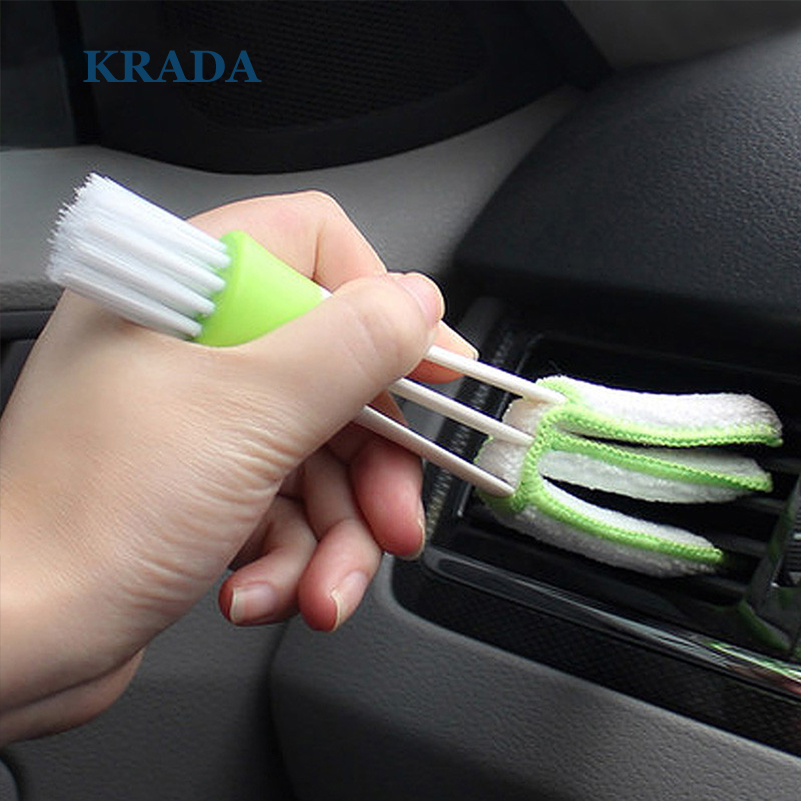 KRADA Car Cleaning Double Side Brush for BMW F30 E34 E90 E30 Audi A5 A4 Vw Mk4 Mazda Cx-5 Cx-7 Kia Rio K2 3 Peugeot Ford Focus 2 защитные аксессуары car pakistan bmw alpina
