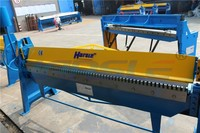 Harsle Duct working used sheet metal manual folding machine with ex work pirce
