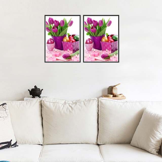 Diamond Painting Embroidery Flower 5D Diy Diamond Painting Cross Stitch Painting Rhinestone Crafts Gift Painting #.