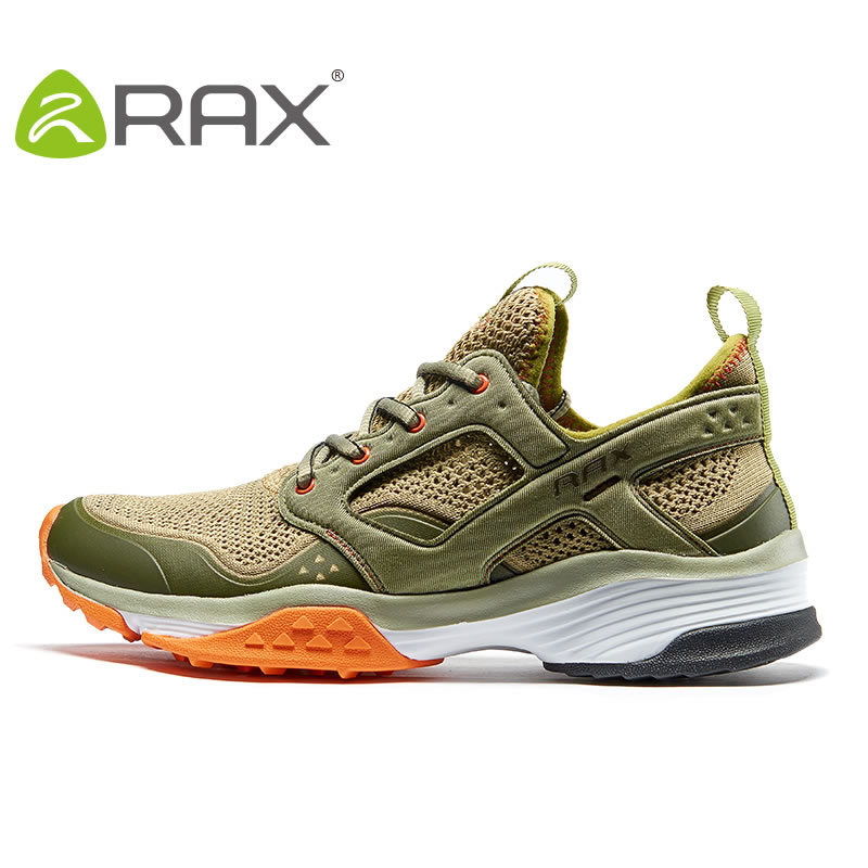 цена на Rax Men Hiking Shoes Outdoor Shoes Male 2017 New Spring Summer Lightweight Non Slip Damping All Terrain Climbing Shoes #B2520