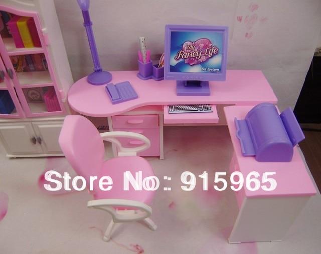 Casa Ufficio Barbie : Nuovo arrivo regalo di natale casa del gioco per bambini set ufficio