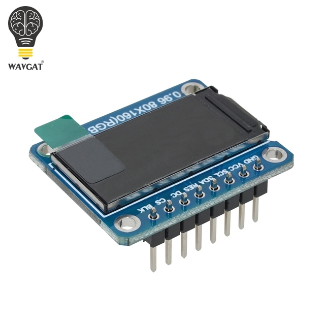 WAVGAT TFT Display 0.96 / 1.3 inch IPS 7P SPI HD 65K Full Color LCD Module ST7735 / ST7789 Drive IC 80*160 240*240 (Not OLED) 2
