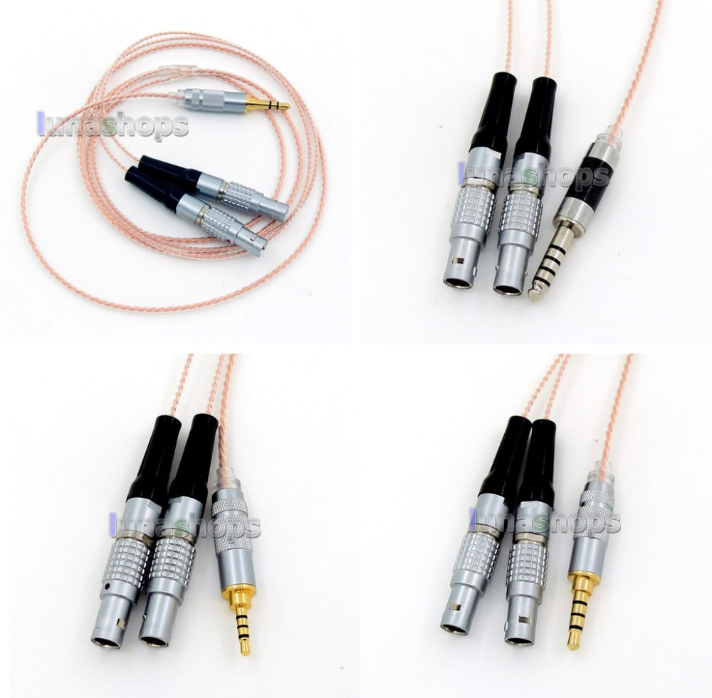 7N OCC Silver Plated Mixed Headphone Cable For Focal Utopia Fidelity Circumaural la76932n 7n 56v6