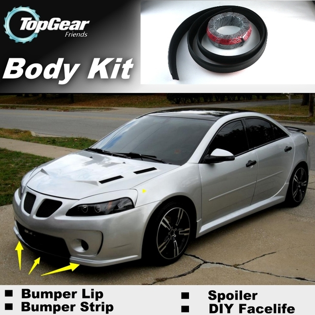 Bumper Lip Deflector Lips For Pontiac G6 G8 Front Spoiler