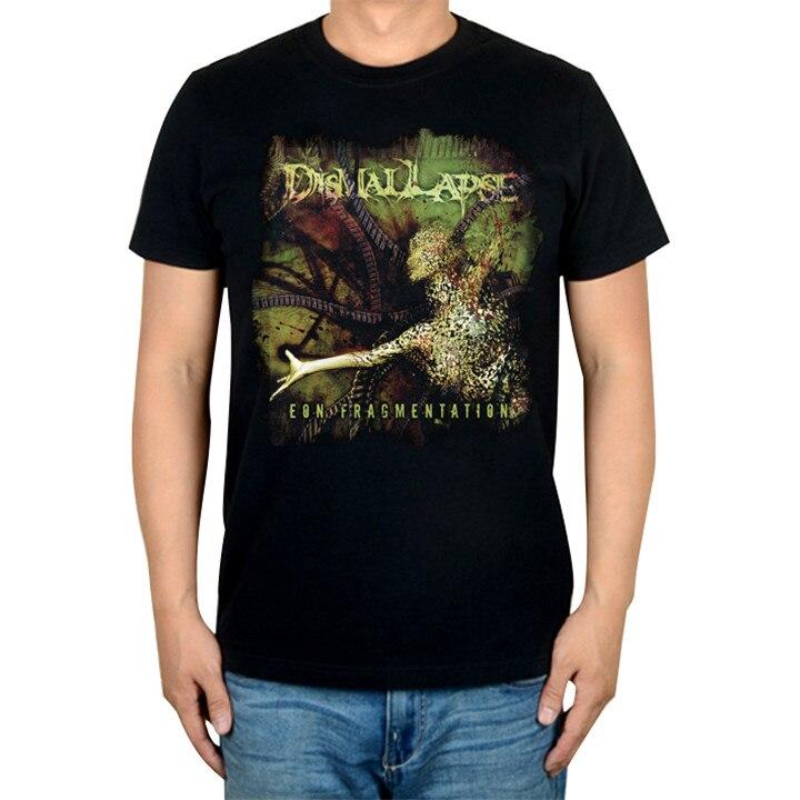 2 дизайна Dismal Lapse Эон осколочный рок Бренд трэш футболка хлопок панк фитнес тяжелый рок металлические черные рубашки camiseta - Цвет: 2