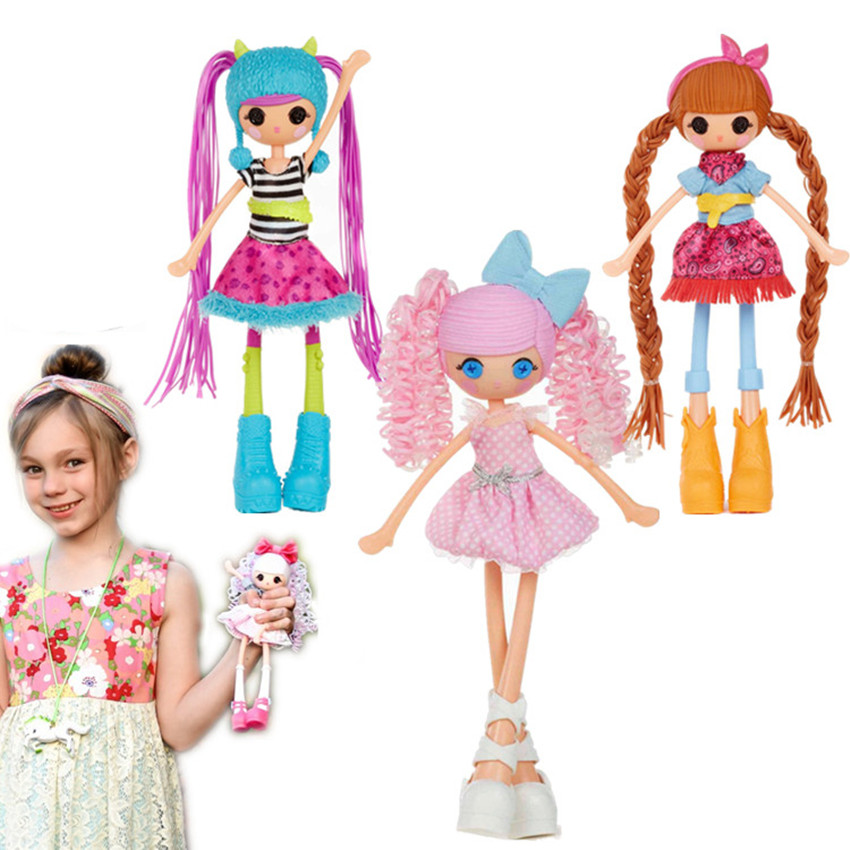 25cm Original Girls lalaloopsy Princess Dolls Furry Grrs Cloud E Sky Princess doll toy Dol birthday Gift