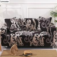 Pattern Cotton Elastic Sofa Covers For Living Room Layer Corner Couch Sofas Futon Covers Of Two And Three Seats 3 2 1 Sofa Cover