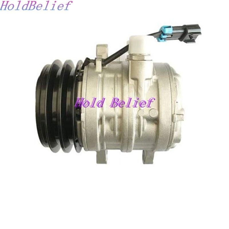 US $320 0  A/C Compressor 6733655 For Bobcat Skidsteer Loader T180 T190  T200 T250 T300 T320-in A/C Compressor & Clutch from Automobiles &  Motorcycles