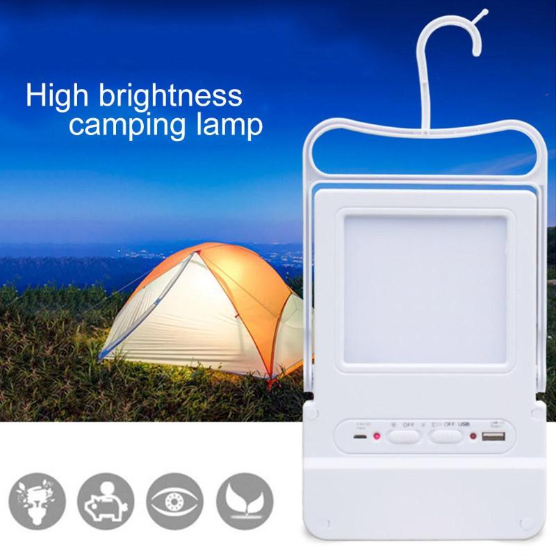 1PC Solar LED Camping Lamp USB Rechargeable LED Hiking Camping Tent Lantern Waterproof L ...