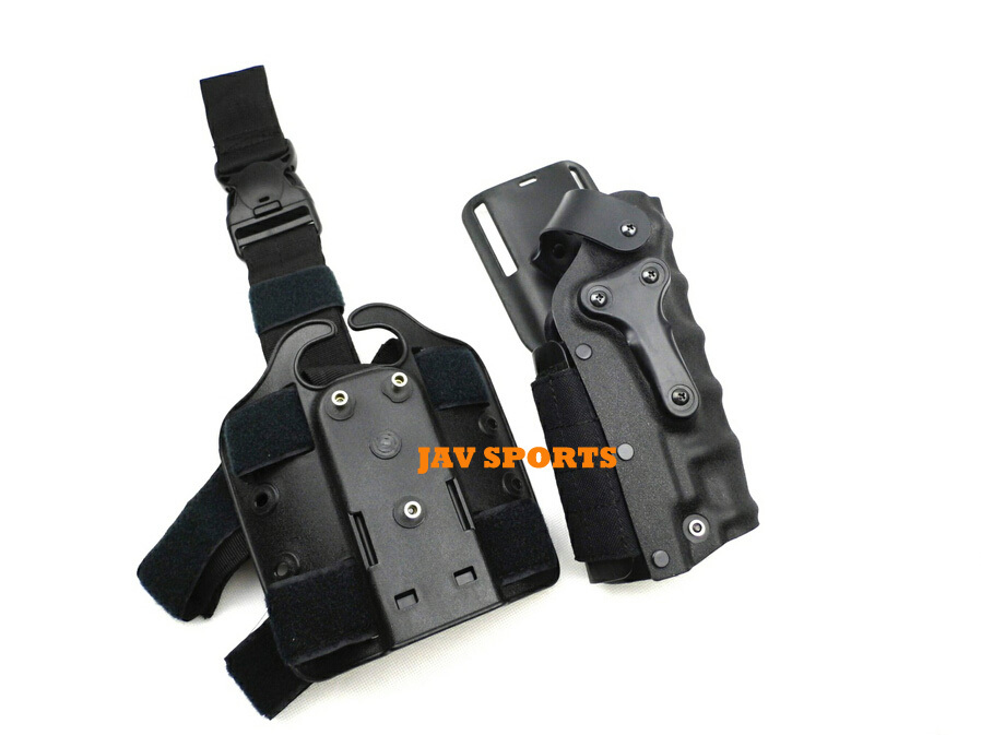 Tactical Holster Mid-Ride 3280 Ambidextrous right to left drop leg pistol holster+Free shipping(SKU12050013) art holster w15090953672