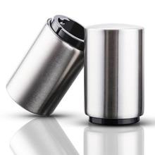Stainless steel automatic beer bottle opener bar KTV household wine utensil