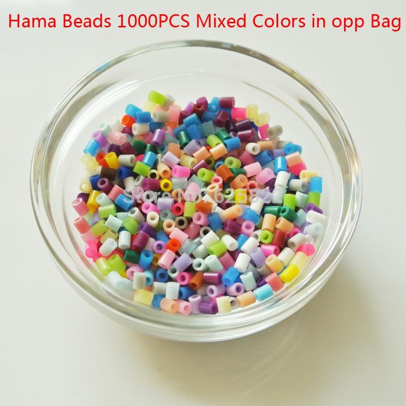 EVA 3 Mm Hama Artkal Beads (Mini 1000 Beads/ Bag) Mixed Colors 100% Quality Guarantee Hama Fuse Beads Activity