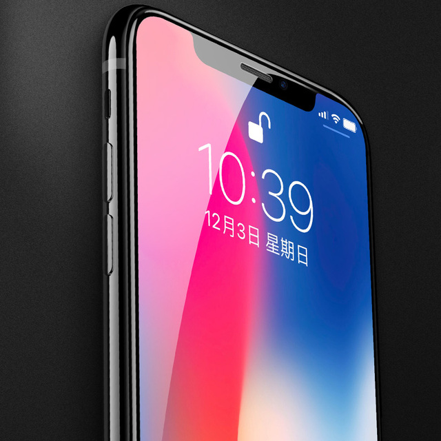 HOCO for Apple iPhone X XS 3D Tempered Glass Film Screen Protector Full Cover Touch Screen Protection for iPhone 11Pro XS Max XR 3