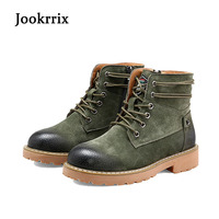 2017 New Autumn Fashion Boots Women Shoes Cross Tied Lady Genuine Leather Boots White Brand Martin