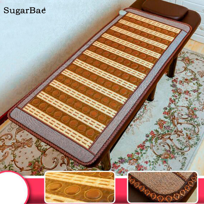 2017 NEW Design, Therapy Korea Jade Heat Mat Tourmaline Mattress for Sale hot sale natural korea tourmaline mat infrared heating physical therapy mat office chair heat pad size 50x50cm for sale