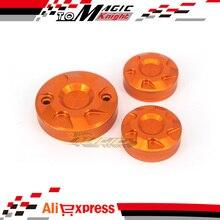 Для KTM RC8/R 08-12, RC8 Прототип 2014, 690 DUKE 08-10 Принадлежности Для Мотоциклов Передние Задние Тормозные Сцепления Водохранилище Колпачок