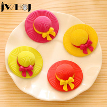 1 pcs JWHCJ novelty Sun hat shape creative rubber eraser kawaii stationery school supplies papelaria gift for kids