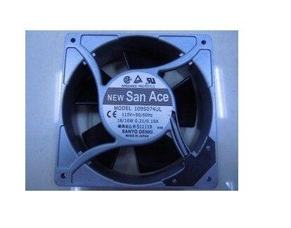 Sanyo cooling fan 109S074UL 12038 115V AC fan delta 12cm 12038 12v cooling fan pfb1212ehe pfb1212ghe pfb1212uhe qfr1212ehe qfr1212ghe