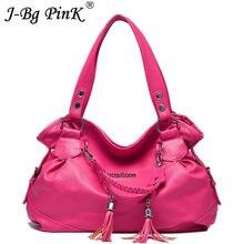 00a62b908c 2018 New Women s Luxury Leather Handbags Brand Fake Designer Women tassel High  quality Messenger Bags Sac