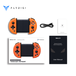 Image 5 - Flydigi pubg cod controller mobile game wee 2T Motion Sensing gamepad android telescopic Bluetooth controller геймпад