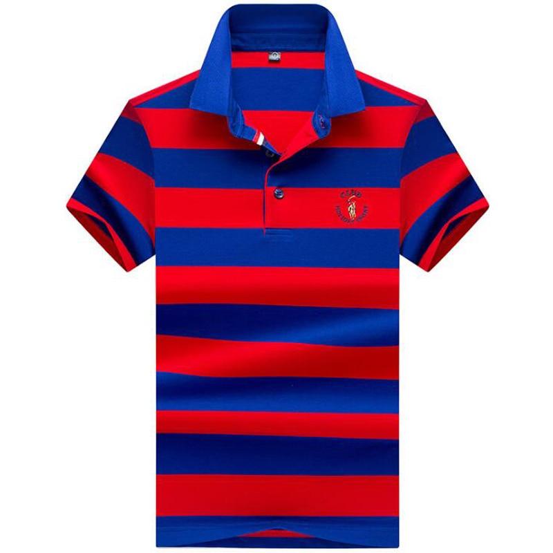 2019 нови висококвалитетни бренд мушкарци поло мајица ново летње повремени пругасти памук мушкарци чврста поло мајица ралп мушкарци цамиса поло хомме