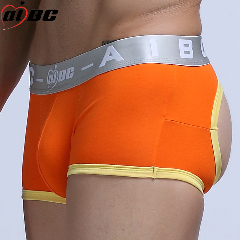 Breathable Fashion Mens Back Cut Out Sexy Backless Boxers Mesh Trunks Underwear Open Back Shorts Panties Underpants Shorts Cueca High Quality Back To Search Resultsunderwear & Sleepwears
