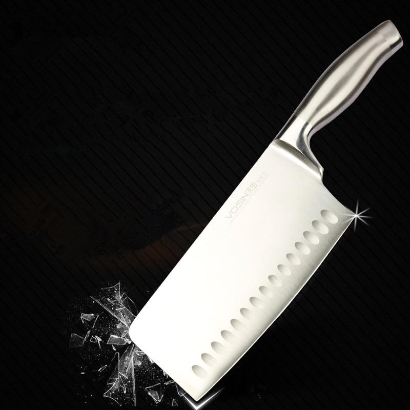 무료 배송 VISON 주방 날카로운 칼 산 토쿠 칼 가정용 Multifuctional 절단 칼 고기 야채 칼 요리사 칼