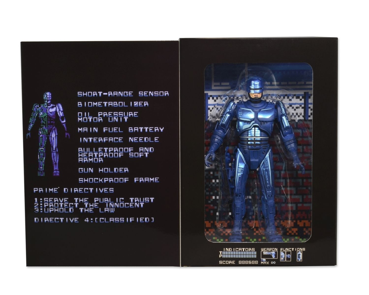 NECA Robocop Classic 1987 Video Game Appearance PVC Action Figure Collectible Model Toy 7 18cm KT3129 neca the terminator 2 action figure t 800 endoskeleton classic figure toy 718cm 7styles