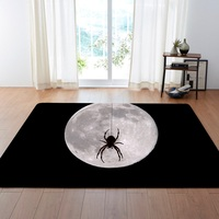 Dropship Moon Starry Print Europe Rugs and Carpets Living Room Space Large Carpet Chair Yoga Mat Sofa Floor Mats Tatami Mat