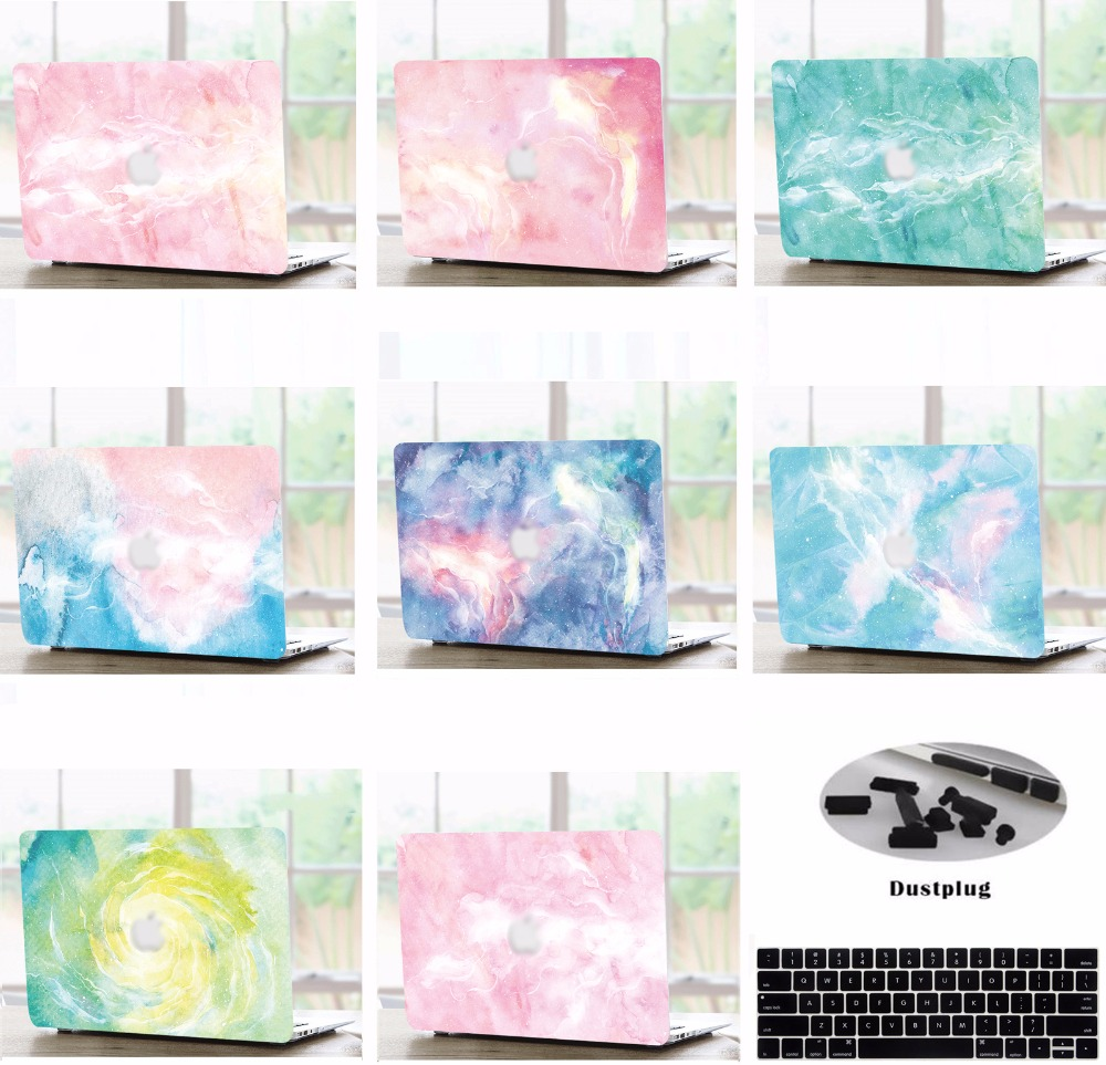 Laptop Hard Shell Case Keyboard Cover Skin Dust Plugs For 11 12 13 15 Inch font