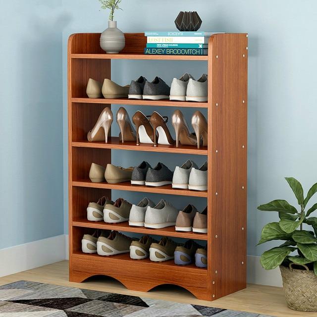Shoe Rack Simple Household Multi Layer Economy Function Modern Cabinet E Dust