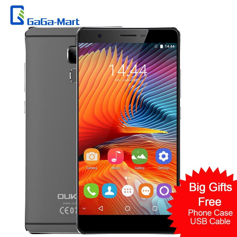 Цена за OUKITEL U13 Смартфон Android 6.0 MTK6753 Octa Core 3 ГБ + 64 ГБ 13MP + 8MP Отпечатков Пальцев 5.5 дюймов FHD 1920*1080 p x 4 Г LTE Мобильный Телефон