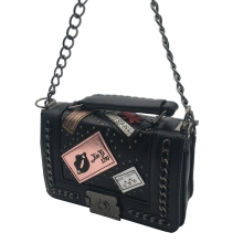 PU Crossbody Kiss Leather