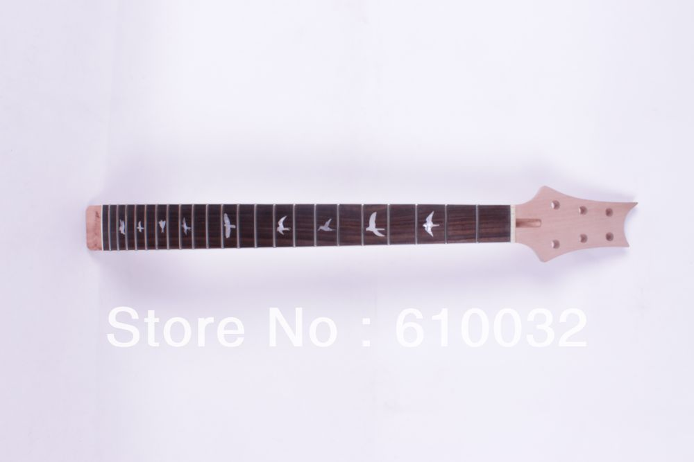 Unfinished electric guitar neck maple made  & RosewoodFINGERBOARD 1 pcs new unfinished electric guitar neck truss rod 24 fret 25 5 free shipping dropshipping wholesale