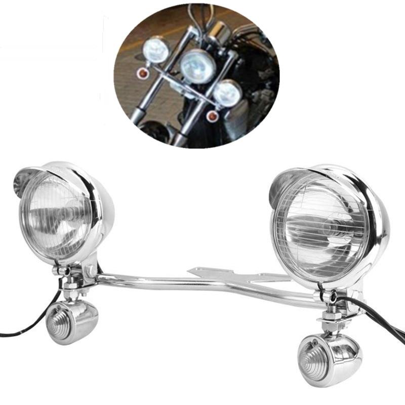 Ziergrill Circle für Rücklicht Cateye Chrom für Harley-Davidson