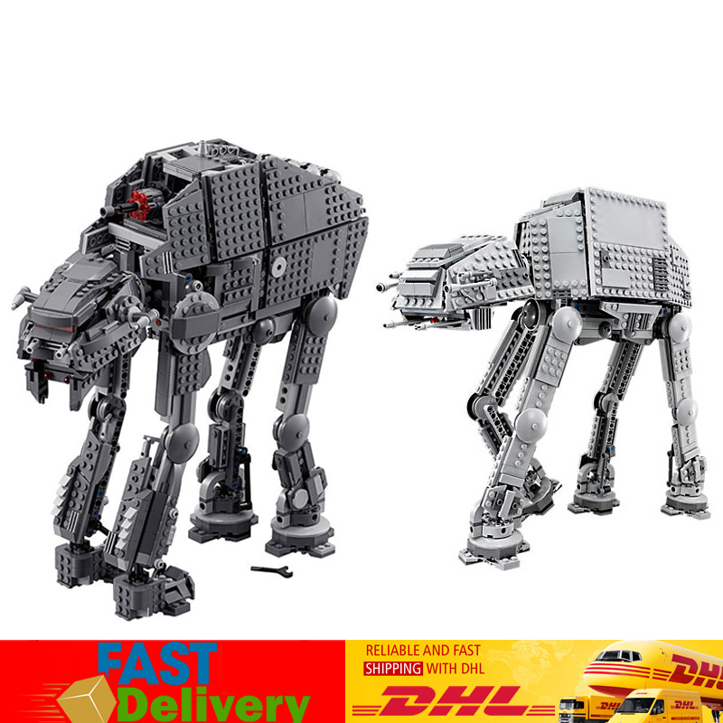 Lepin 05050 05130 Star Wars AT-AT First Order Heavy Assault Walker Building Blocks Bricks Toys Compatible LegoINGlys 75054 75189