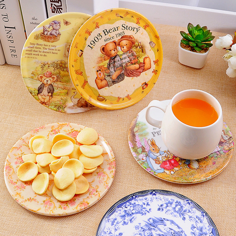 ✅European high-grade insulating melamine placemat table plate ...