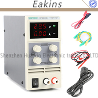KPS3010D Adjustable High Precision Double LED Display Switch DC Power Supply Protection Function 30V10A 110V 230V