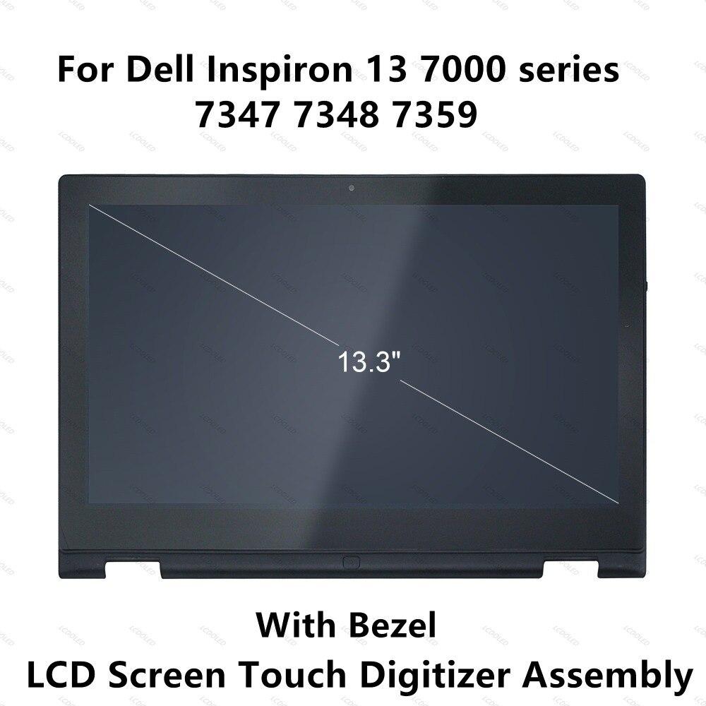 Für Dell Inspiron 13 7000 Serie 7347 7348 7359 P57g 11118178082 Lcd Display Touchscreen Glasscheibe Digitizer Assembly + Rahmen