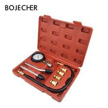 Gasoline Engine Compressor Tester Gauge Meter Tester Kit Automobile Pressure Compression Tester Cylinder Leakage car repair tool