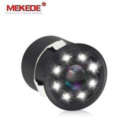 Universal 8 LED Night Visions Car Rear View Camera Wide Angle HD Color Image Waterproof Universal Backup Reverse Parking Camera