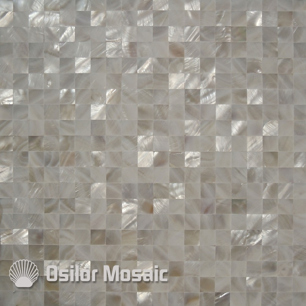 100% natural Chinese freshwater shell mother of pearl mosaic tiles for interior house decoration kitchen back splash wall tiles long natural mother of pearl necklace magenta