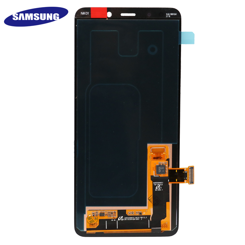 Image 4 - 100% ORIGINAL AMOLED 5.6'' Display LCD for SAMSUNG Galaxy A8 2018 LCD A530 LCD Touch Digitizer Assembly Brightness adjusted-in Mobile Phone LCD Screens from Cellphones & Telecommunications