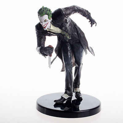 Nova Série Batman O Coringa Arkham Fancy Dress Estátua Action Figure toy model collection