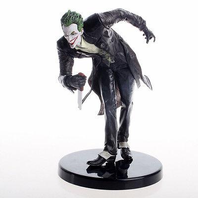 New Arkham Batman Series The Joker Fancy Dress Statue Action Figure collection model toy limited 18cm high classic toy forrest gump batman arkham asylum action figure toys