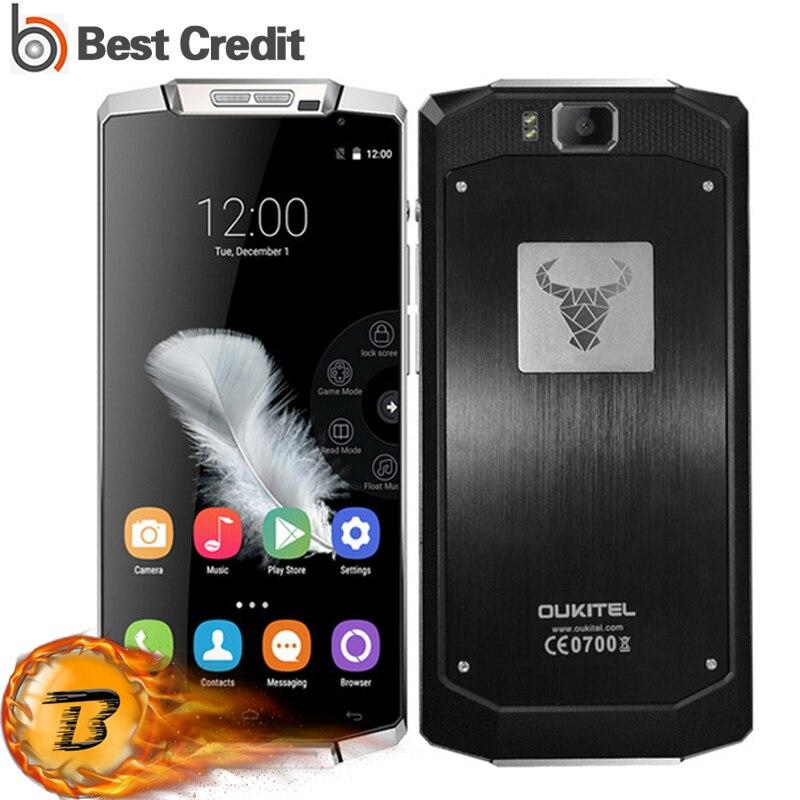 bilder für Original Oukitel K10000 4G FDD LTE Smartphone 5,5 zoll Android 6,0 10000 mAh Batterie Handy 2 GB RAM 16 GB ROM 13MP Mobilen telefon