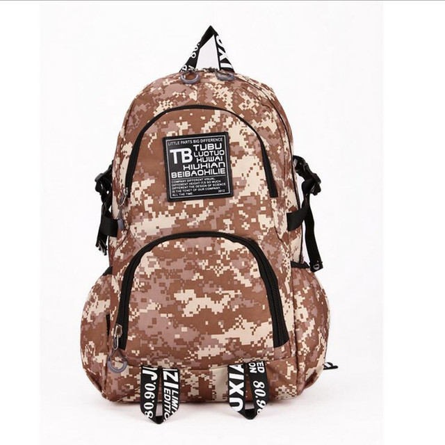 1d2aa6ea61 2017 New Supreme Backpack Skateboard Backpack Bag Men And Women Camouflage  Backpack Schoolbag Popular Summer Bag